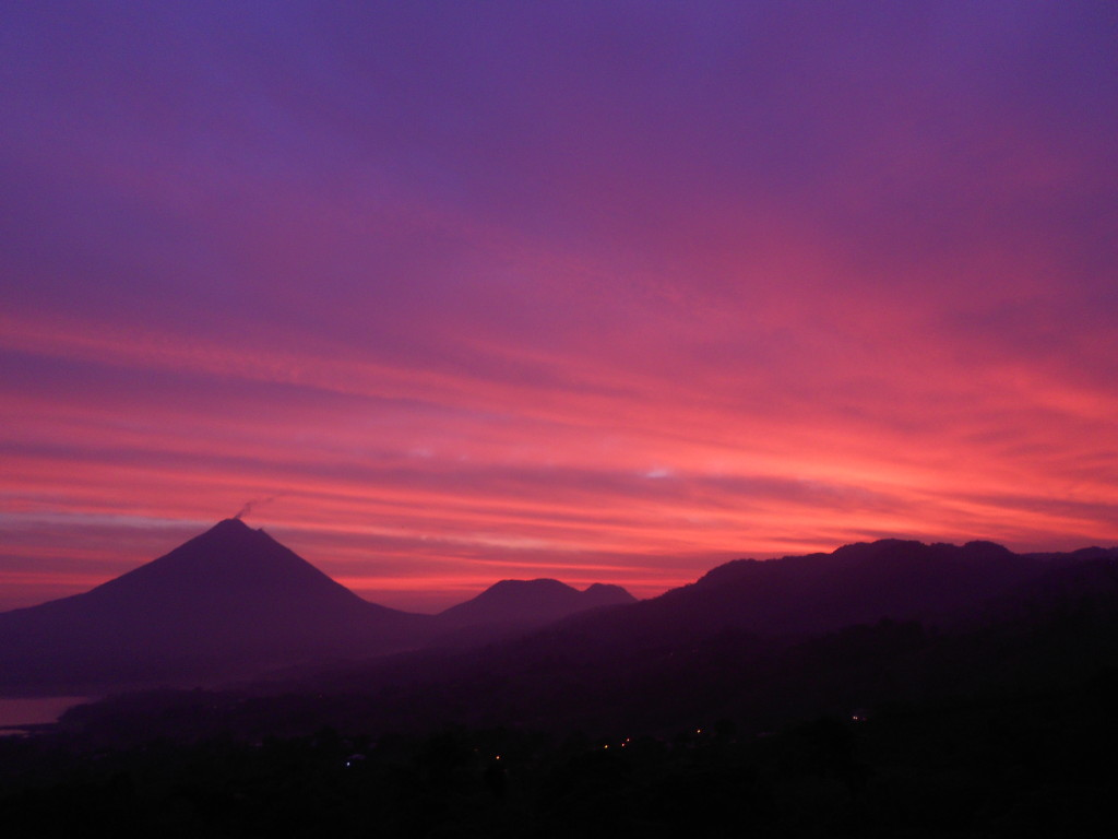 Sunrise Volcan Arenal