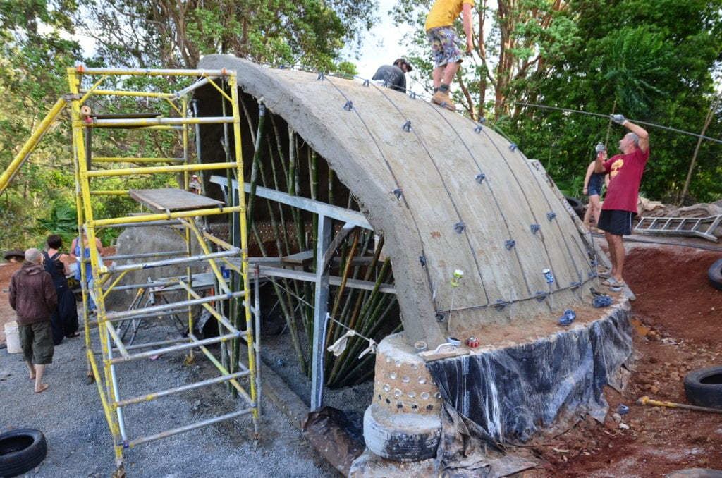 Earthship Build